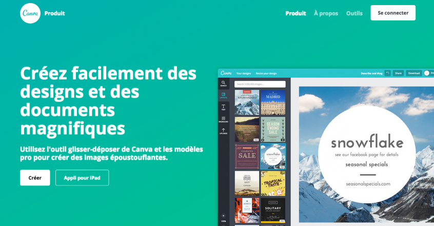 Canva Un Bon Outil De Creation Graphique